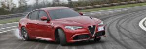 Fotos del Alfa Romeo Giulia en acción