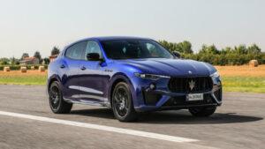 Fotos: Prueba del Maserati Levante Trofeo