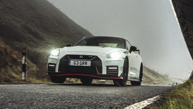Godzilla en la niebla: ¿última prueba del Nissan GT-R R35?