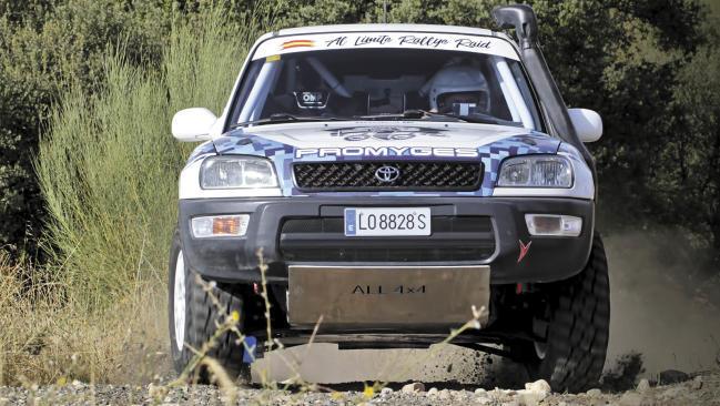 Prueba racing: Toyota RAV4 de raids
