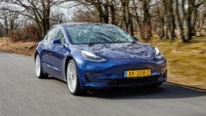 Fotos del Tesla Model 3 a prueba