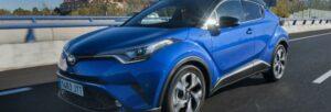 Fotos del Toyota C-HR 2017, a prueba