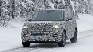 Fotos espía Range Rover 2021