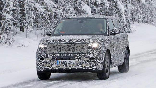 El nuevo Range Rover 2021 se deja ver en fotos espía
