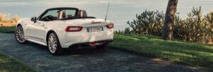 Fotos de la prueba del Fiat 124 Spider