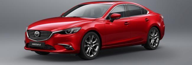 Así es la actualización del Mazda 6