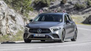 Fotos de la prueba del Mercedes Clase A 2018