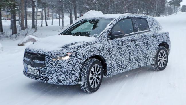 Mercedes-Benz EQA: cazada la variante de acceso eléctrica
