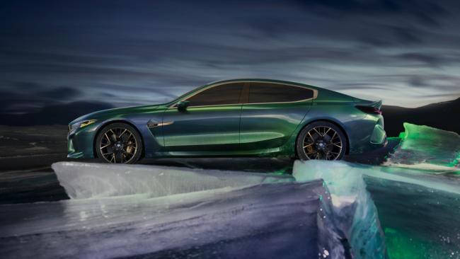 El BMW M8 Gran Coupé Concept lleva la deportividad a otro nivel