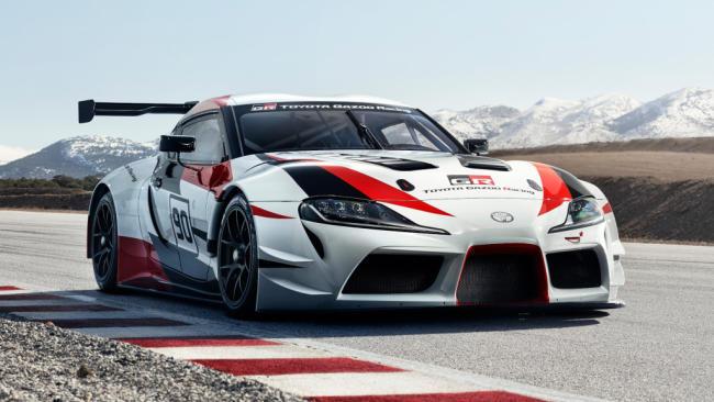 Toyota recupera su legado deportivo con el GR Supra Racing Concept