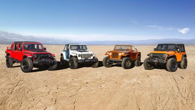 Ya están aquí los Jeep Wrangler y Gladiator del Moab Jeep Safari 2021