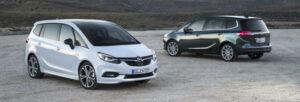 Fotos del Opel Zafira 2016