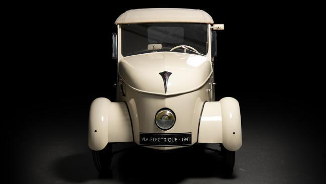 Peugeot VLV: un coche eléctrico de los años 40