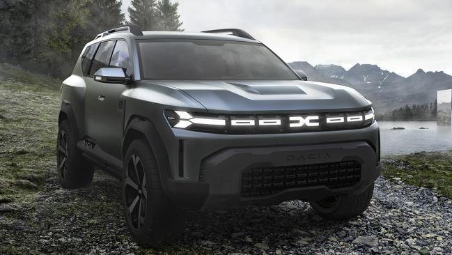 Dacia Bigster Concept: Así será el SUV 4×4 tope de gama de Dacia