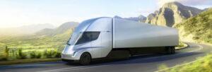 Fotos del Tesla Semi