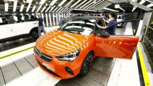 Fotos: fabricación del Opel Corsa-e