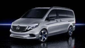 Fotos del Mercedes EQV Concept