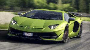 Fotos del Lamborghini Aventador SVJ
