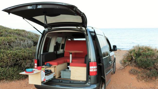 Kits autoinstalables de accesorios para personalizar tu propia furgoneta camper