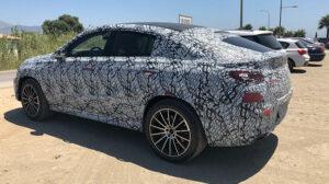 Fotos espía del  Mercedes GLE Coupé