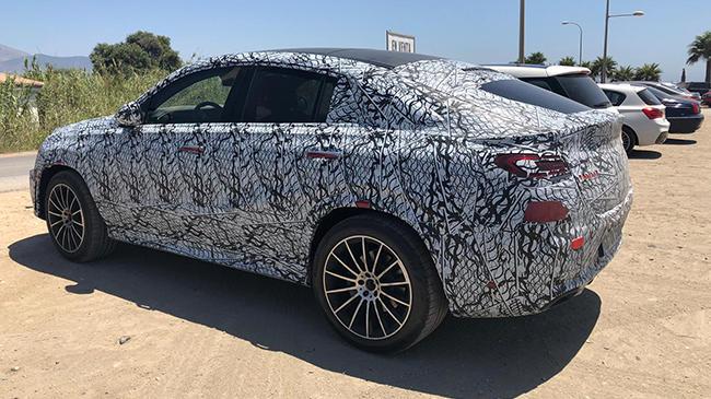 Mercedes GLE Coupé 2020: lo 'cazamos' en fase de pruebas