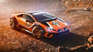 Fotos del Lamborghini Huracán Sterrato Concept