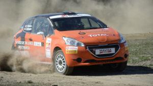 Fotos del Peugeot 208 R2 de la Rally Cup Ibérica