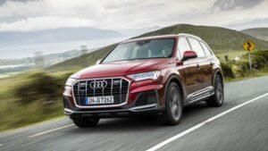 Fotos del nuevo Audi Q7 en acción