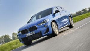 Fotos del BMW X2 M35i en acción