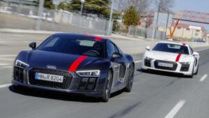 Fotos del Audi R8 V10 RWS en acción