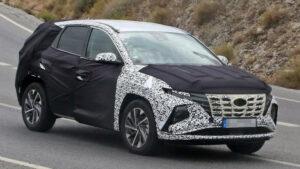 Fotos espía del Hyundai Tucson 2020