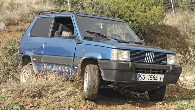 Fiat Panda 4X4 Sisley: Veterano multiusos