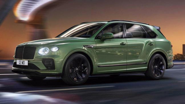 Bentley Bentayga 2021: restyling para el SUV más distinguido