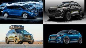 Hyundai Tucson: Versiones fuera de serie