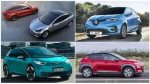 Los 10 coches eléctricos más vendidos en septiembre de 2020