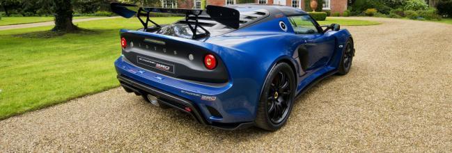 Lotus Exige Cup 380: un coche de carreras matriculable