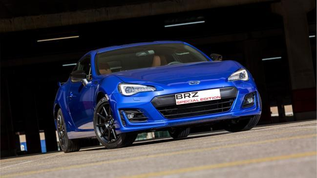 Subaru BRZ Special Edition: mayor deportividad y equipamiento