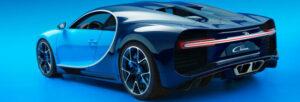Fotos del Bugatti Chiron y sus rivales