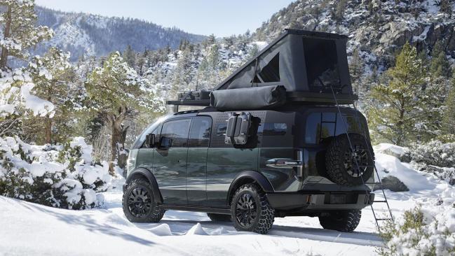 Canoo Pickup Truck: un pick-up eléctrico llegado del futuro con hasta 608 CV de potencia