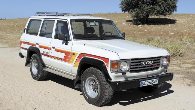 Toyota Land Cruiser   HJ 61. La alternativa nipona al Range Rover