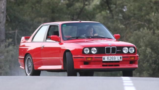 Prueba del BMW M3 E30 Sport Evolution