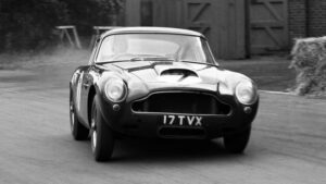 Fotos de la saga Aston Martin DB en su 70 aniversario