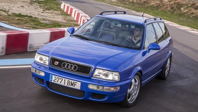 Prueba Audi RS2: el coche familiar 'padre' de los RS