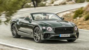 Fotos del Bentley Continental GT Convertible a prueba