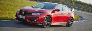 Fotos del Honda Civic Type R en acción