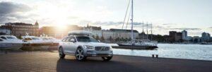 Fotos del Volvo V90 Cross Country Ocean Race