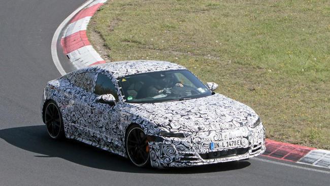 Audi e-tron GT 2021: la berlina eléctrica completa su programa de pruebas en Nürburgring