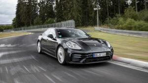 Fotos: Porsche Panamera batiendo el récord de Nürburgring