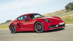 Fotos de la prueba del Porsche 718 Cayman GTS