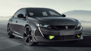 Fotos del 508 Peugeot Sport Engineered Concept